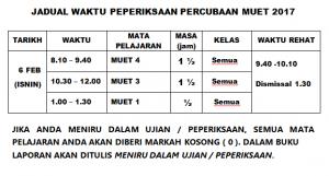jadual-exam-muet