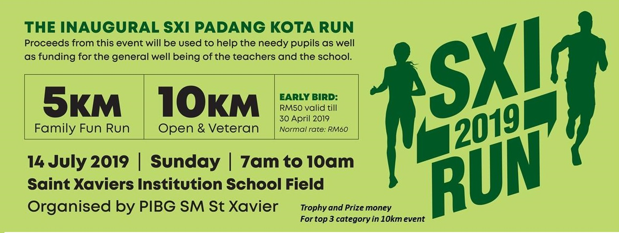 The Inaugural SXI Padang Kota Run
